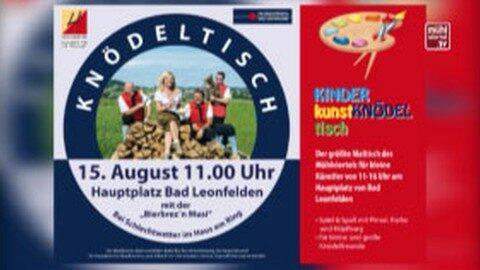 Ankündigung: Knödeltisch in Bad Leonfelden