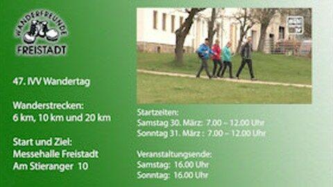 47. IVV Wandertag in Freistadt 2019