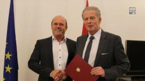 Hohe Auszeichnung für Werner Pürmayer