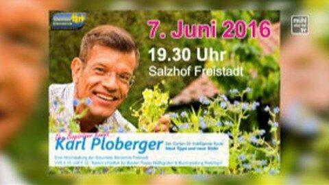 Ankündigung Ploberger im Salzhof