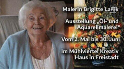 Ankündigung Brigitte Lanik stellt in der MÜK-Galerie aus