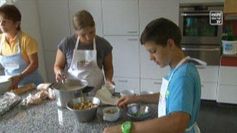 Kochen mit Kids in der LWS Kirchschlag