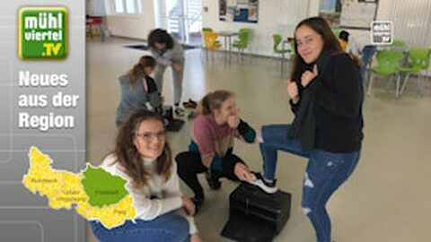 Schuhe putzen für den guten Zweck – NMS Freistadt