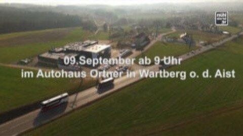 Ankündigung Autohaus Ortner –  Autoschau mit Jungwagen-Messe