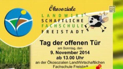 Ankündigung Tag der offenen Tür LWS Freistadt