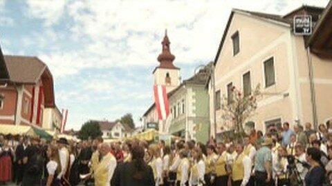 Ortsbildmesse in Kirchberg ob der Donau