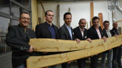 Junge Wirtschaft Freistadt zu Gast bei Danner Holz-Design in Kefermarkt