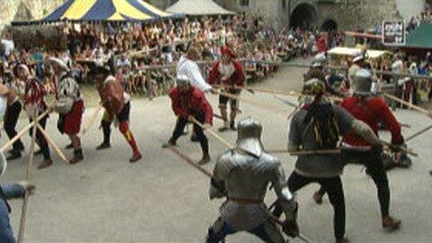Ritterfest auf der Burg Reichenau