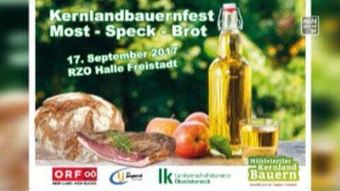 Ankündigung Kernlandbauernfest am 17.9.2017