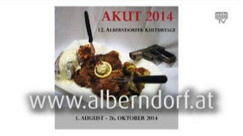 Ankündigung Alberndorfer Kulturtage 2014