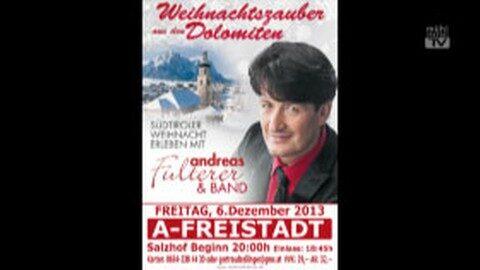 Ankündigung Andreas Fulterer und Band im Salzhof