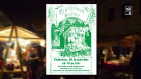 Ankündigung Adventmarkt Neufelden