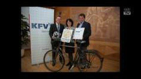 """Das Kuratorium für Verkehrssicherheit kürt """"Fahrradfreundlichste Gemeinde"""""""