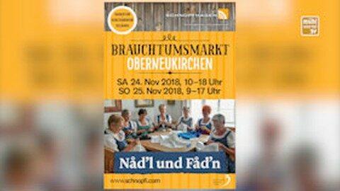 Ankündigung Brauchtumsmarkt Oberneukirchen
