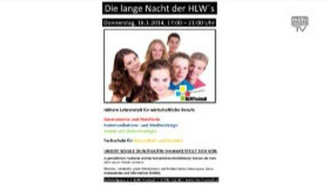 Ankündigung Lange Nacht der HLWs in Freistadt am Do, 16.1.2014