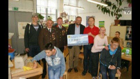 2.000,- Euro für Werkstätte Oberneukirchen