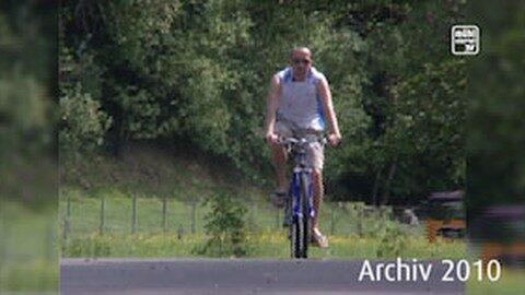 Rückblick: Radfahren am Donauradweg 2010