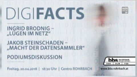 Ankündigung: Digi.Facts – Expertentalk im Centro Rohrbach