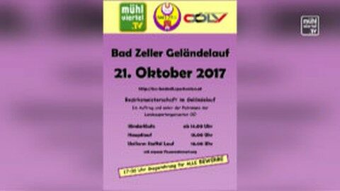 Ankündigung Uniformlauf in Bad Zell am 21.10.2017 ab 14:00