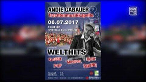 Ankündigung: Konzert des MV Bad Leonfelden mit Andreas Gabauer
