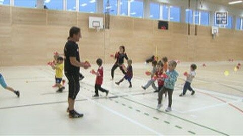 Kornspitz Fußball Kindergarten in Pregarten