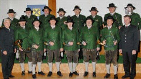 Neue Tracht für die Jagdhornbläsergruppe Freistadt