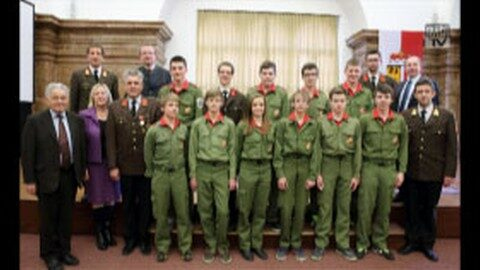 Ehrenamt ausgezeichnet – Freiwillige Feuerwehren internationales Aushängeschild
