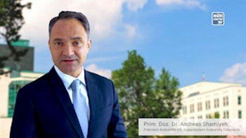 Aufruf vom Präsidenten der Krebshilfe OÖ – Gehen Sie wieder zur Vorsorge!