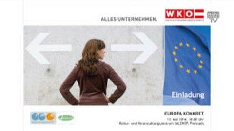 Ankündigung EUROPA KONKRET
