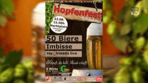 Ankündigung Hopfenfest 4222