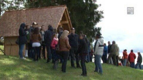 Einweihung Handwerkskapelle Firma Buchner in Unterweißenbach