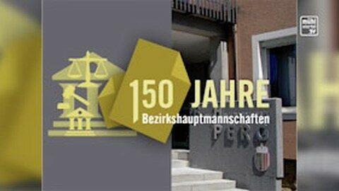 Ankündigung 150 Jahre Bezirkshauptmannschaft Perg