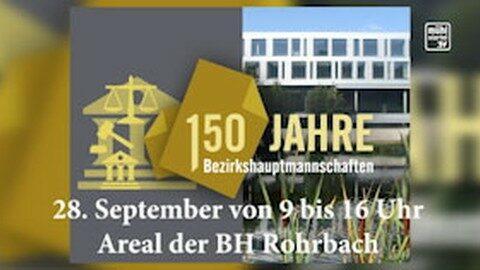Ankündigung 150 Jahre BH Rohrbach