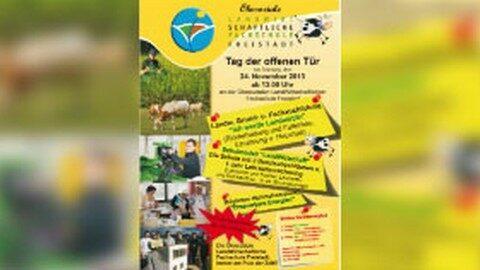 Ankündigung Tag der offenen Tür in der LWS Freistadt