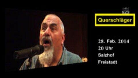 Ankündigung Konzert Querschläger
