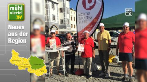 Hauptplatz in Freistadt – mit Leben erfüllt!