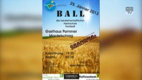 Ankündigung Ball der LWS Freistadt