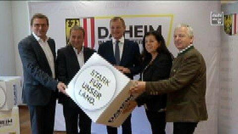 """""""Daheim in OÖ""""-Tour von Landeshauptmann Stelzer im Mühlviertel"""