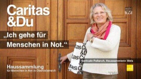 Spot Caritas Haussammlung