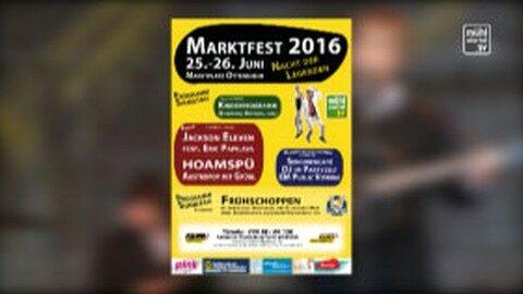 Ankündigung Marktfest in Ottensheim 2016