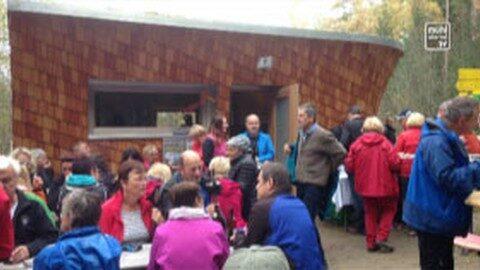 Feierliche Eröffnung der Hoh Haus Hütte am Buchberg in Lasberg