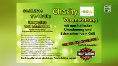 Ankündigung Charity-Veranstaltung in Bad Leonfelden am 21.8.2016
