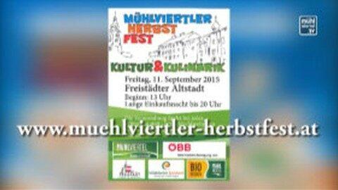 Ankündigung Herbstfest Freistadt