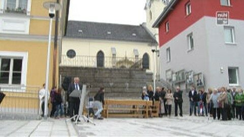Marktplatzeröffnung in Weitersfelden