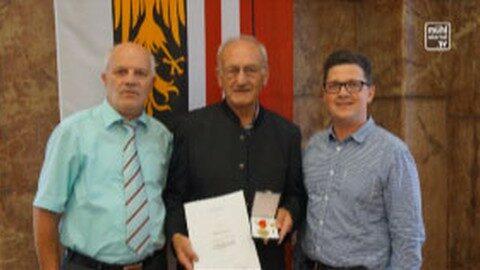 """Josef Affenzeller erhält """"Humanitätsmedaille des Landes Oberösterreich"""""""