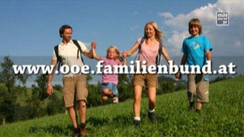 Spot Gewinnspiel Familienbund OÖ
