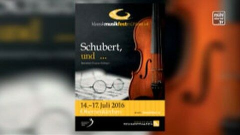 Ankündigung Klassikmusikfestival in Oberneukirchen