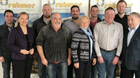 Rabmer Gruppe ehrt langjährige Mitarbeiter