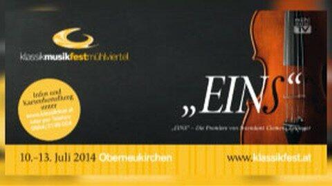 Ankündigung Klassikfestival Oberneukirchen 2014