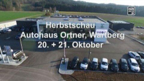 Ankündigung Autohaus Ortner – Herbstautoschau am 21.-22.10.2017